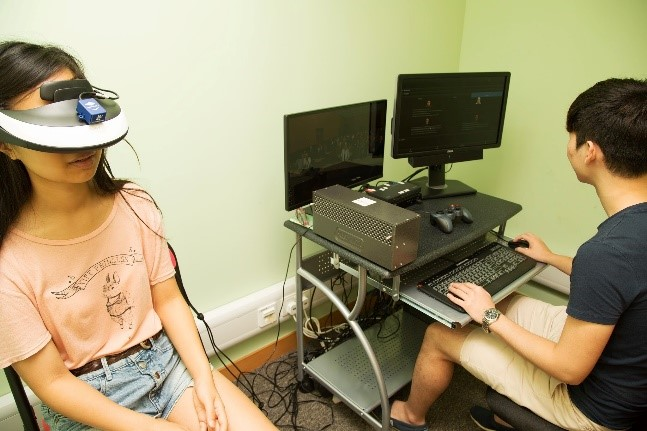 A virtual reality system Image1